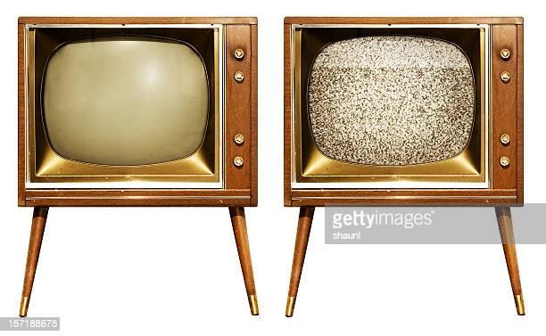 レトロなテレビ - 1960~1969年 ストックフォトと画像