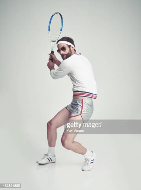Retro tennis pro