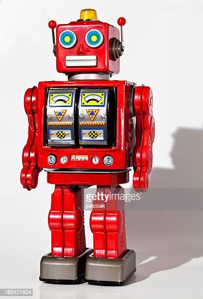 Robot jouet vintage Tin
