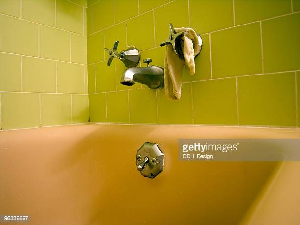 Style rétro baignoire