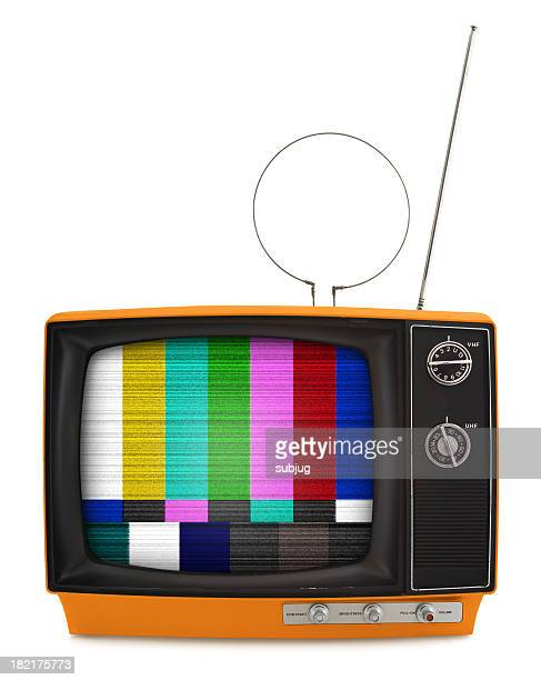 retro tv - radio wave stock pictures, royalty-free photos & images