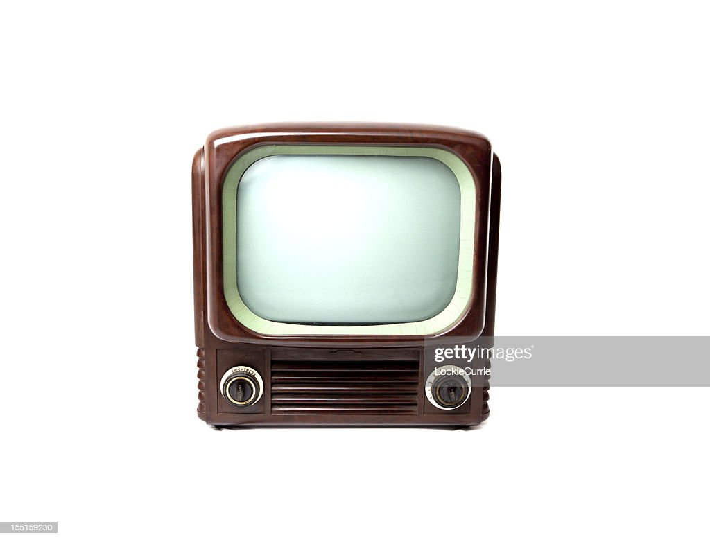 retro tv similar to youtube icon stock photo getty images. Black Bedroom Furniture Sets. Home Design Ideas