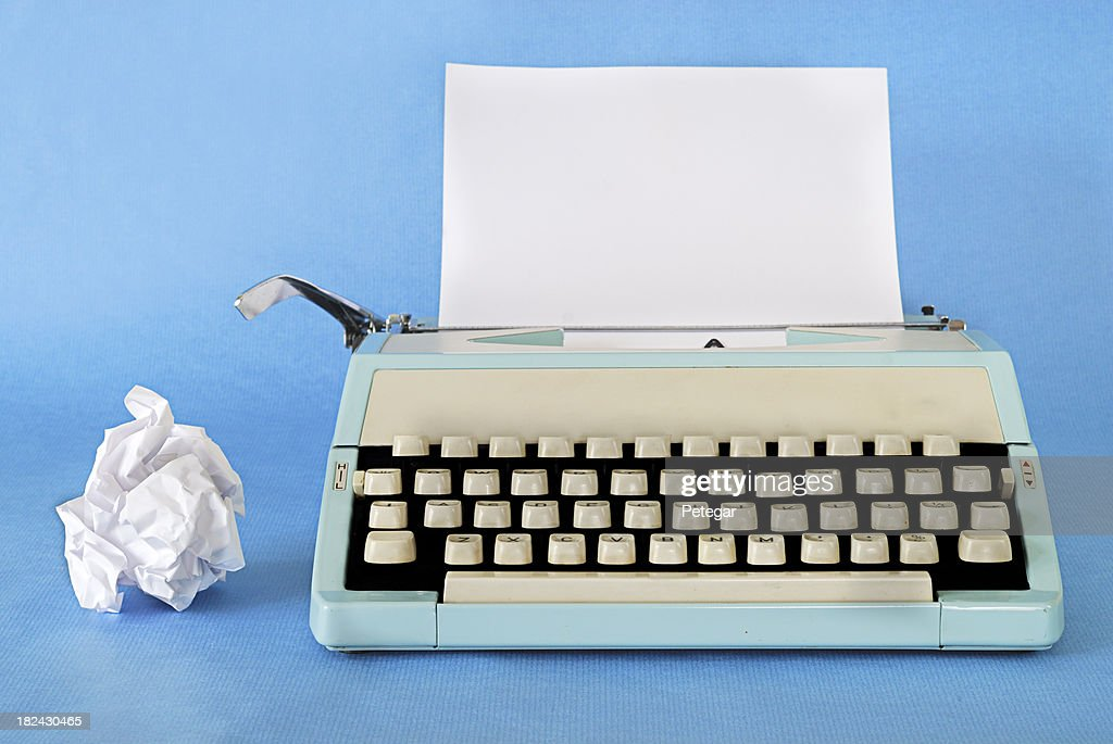 Retro Typewriter : Stock Photo