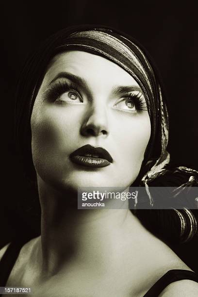 retro woman - actress stock pictures, royalty-free photos & images