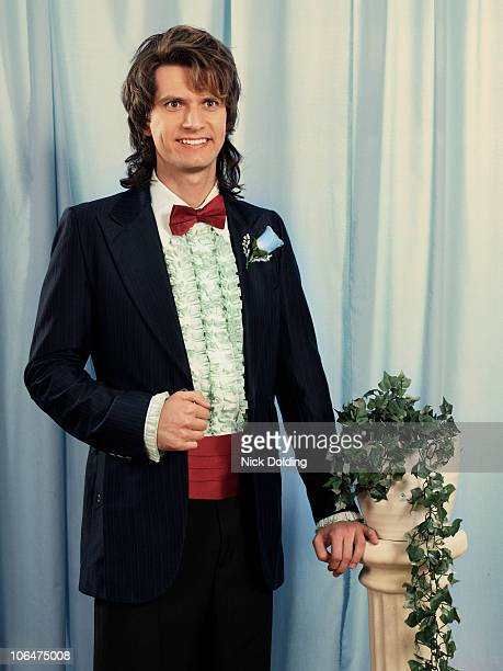 retro03c prom king - smoking stock-fotos und bilder