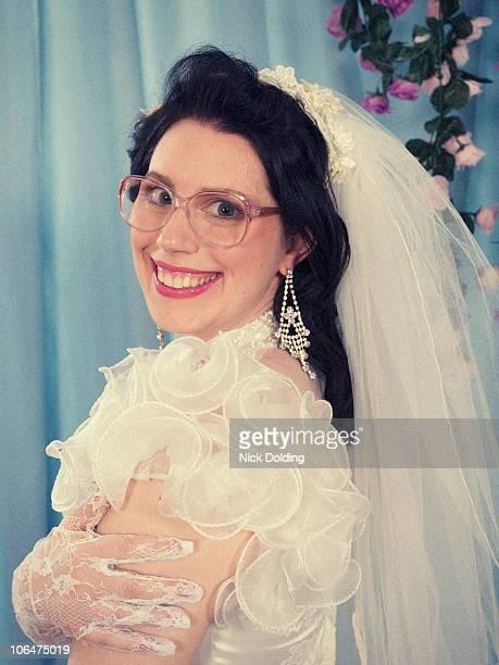 Retro25 bride close up