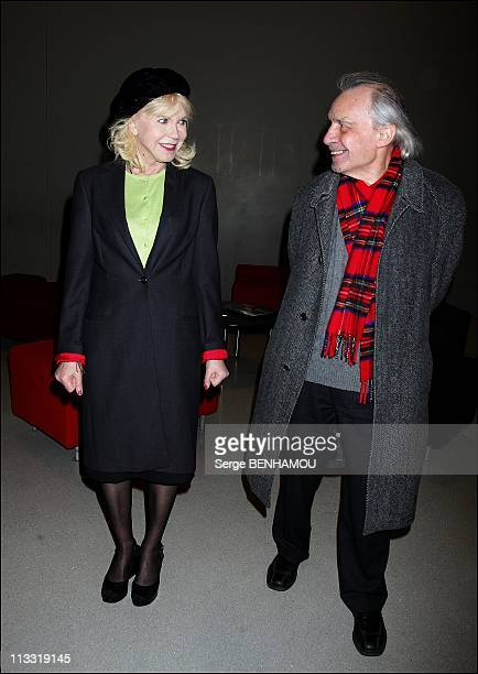 Retrospective Jacques Rivette And Presentation Of His Latest Film ' Ne Touchez Pas La Hache' At The Center Georges Pompidou In Paris, France On March...