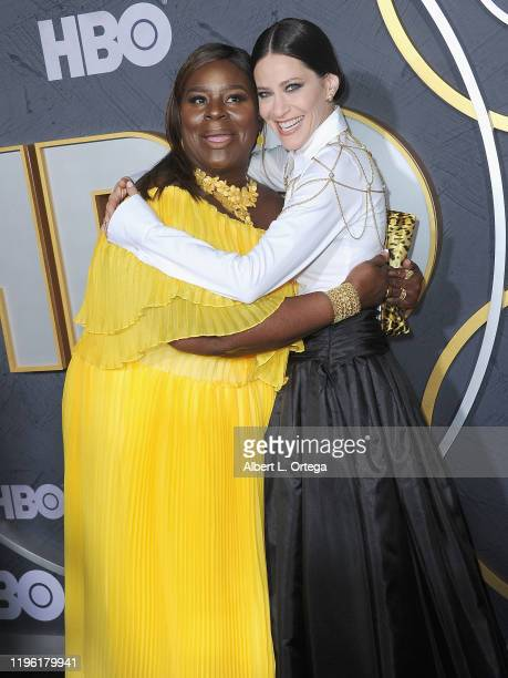 Retta and Jackie Tohn arrive for the HBO's Post Emmy Awards Reception held at The Plaza at the Pacific Design Center on September 22, 2019 in West...