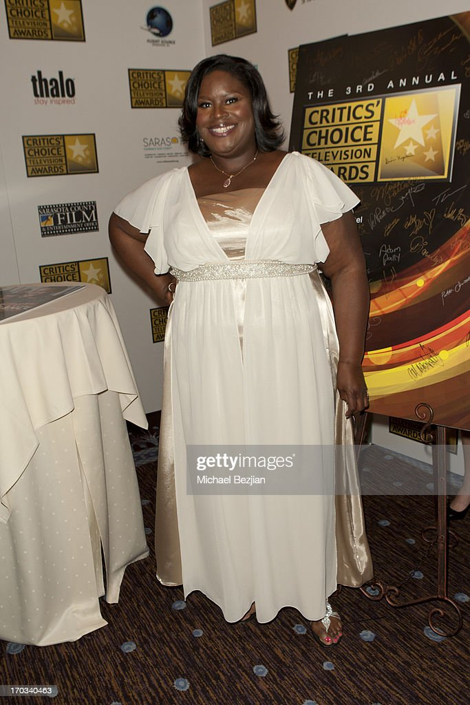 Retta attends Critics' Choice Television Awards VIP Lounge on June 10, 2013 in Los Angeles, California.
