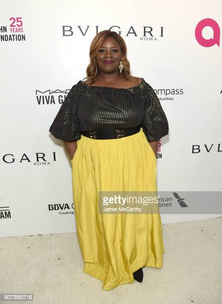 Retta attends the 26th annual Elton John AIDS Foundation Academy Awards Viewing Party sponsored by Bulgari celebrating EJAF and the 90th Academy...