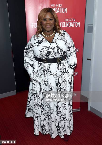 Retta attends the SAGAFTRA Foundation Conversations 'Good Girls' at The Robin Williams Center on March 9 2018 in New York City