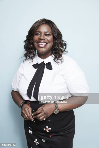Retta of Good Girls poses for a photo during NBCUniversal Upfront Events Season 2017 Portraits Session at Ritz Carlton Hotel on May 15 2017 in New...