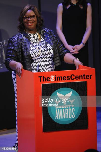 Retta speaks onstage at the 6th Annual Shorty Awards on April 7 2014 at The Times Center in New York City