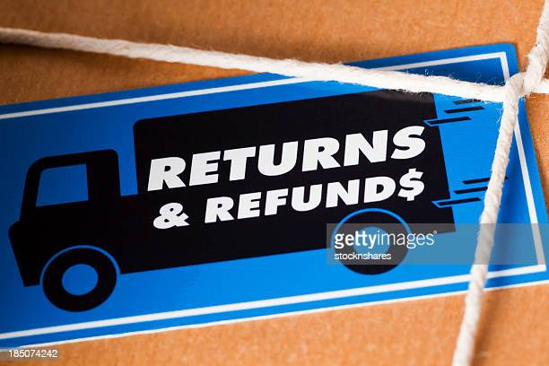 return and refund package us dollar - returning stock pictures, royalty-free photos & images