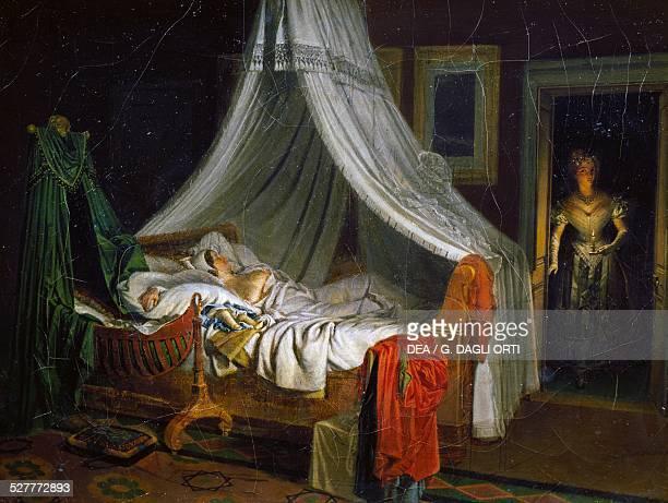 Return from the dance painting by Pierre Roch Vigneron oil on canvas4x325 cm France 19th century Troyes Musée Des BeauxArts Et D'Archéologie