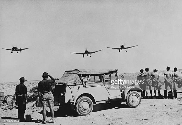 Return Of Our Bombers In North Africa On June 14Th 1941
