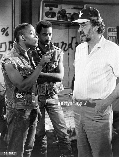 HEAVEN 'Return of the Masked Rider' Episode 4 Aired 10/3/84 Pictured Darren Taylor as Thumper Stoney Jackson as Mau Mau Victor French as Mark Gordon
