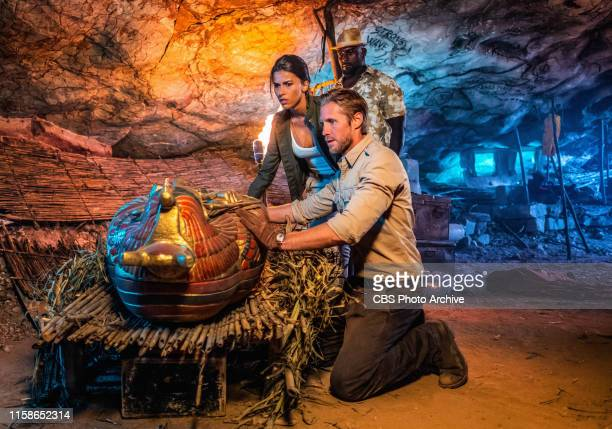 Return of the Queen The trail of Cleopatra's sarcophagus leads Danny and Lexi to the Bermuda Triangle where a contact of Shaw's offers assistance...