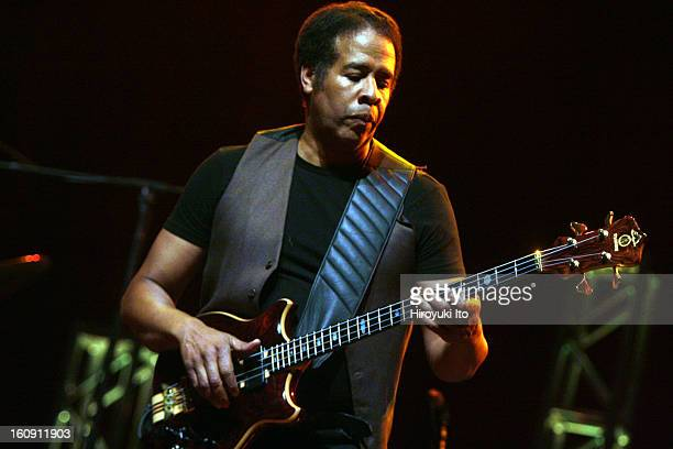 Return to Forever performing at the United Palace Theater on August 7, 2008.This image:Stanley Clarke.
