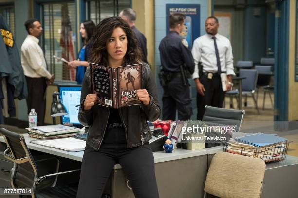 NINE Return to Skyfire Episode 507 Pictured Stephanie Beatriz as Rosa Diaz