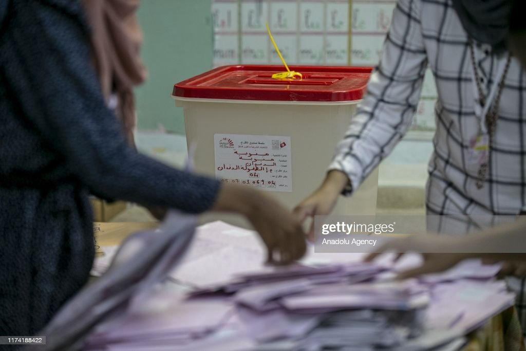 Parliamentary elections in Tunisia : News Photo