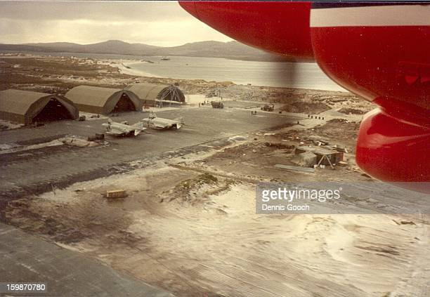 CONTENT] Returning to Stanley Airfield after an Islander flight from Volunteer Point November 1983