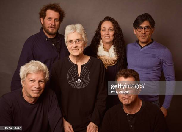 Reuben Aaronson Langdon Page Riki Ott Kindra Arnesen Mark Manning and Claude Chalhoub from The Cost Of Silence pose for a portrait at the Pizza Hut...