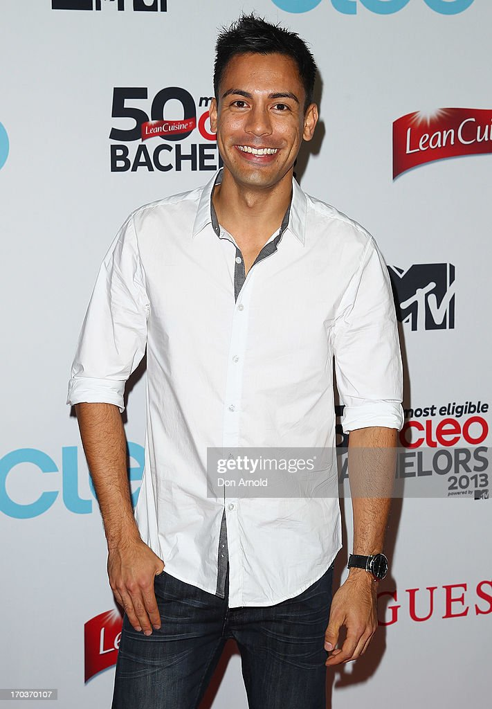 Reuben Mourad arrives at the CLEO Bachelor of the Year Awards at the Beresford Hotel on June 12, 2013 in Sydney, Australia.