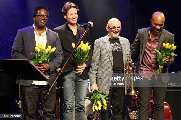 Reuben Rogers Alexi Tuomarila Tomasz Stanko Gerald Cleaver played a concert as Tomasz Stanko Band for 50th anniversary of Theatre STU in Krakow...
