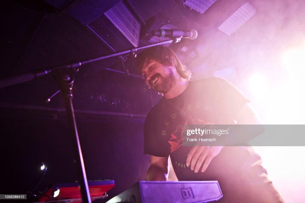 Reuben Styles of the Australian band Peking Duk performs live on stage during a concert at the Musik und Frieden on September 14, 2018 in Berlin, Germany.