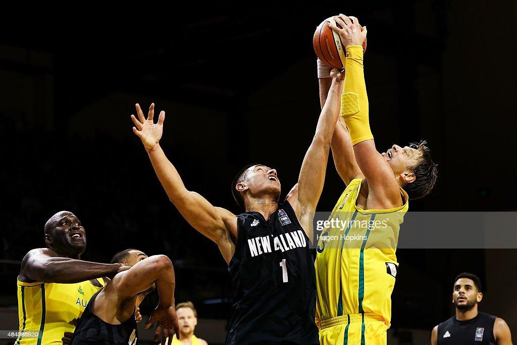 Australian Boomers v New Zealand Tall Blacks - Game 2