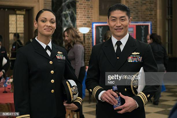 MED Reunion Episode 108 Pictured Cynthia AddaiRobinson as Dr Vicki Glass Brian Tee as Dr Ethan Choi