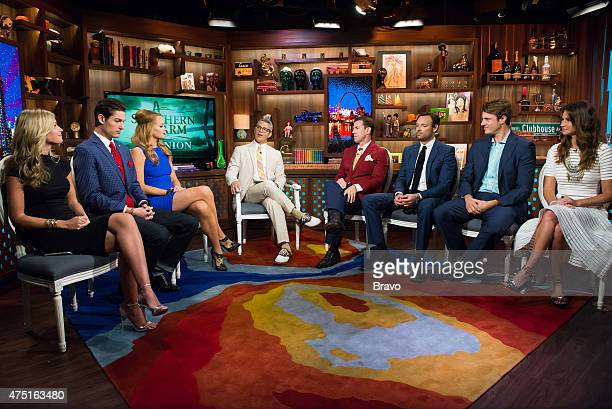 CHARM 'Reunion' Episode 212 Pictured Cameran Eubanks Craig Conover Kathryn Dennis Calhoun Andy Cohen Thomas Ravenel Whitney SudlerSmith WIlliam...