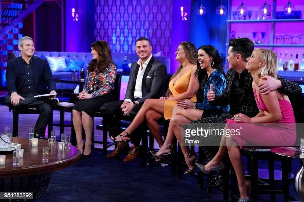 RULES 'Reunion' Pictured Andy Cohen Lisa Vanderpump Jax Taylor Brittany Catwright Scheana Marie Tom Sandoval Ariana Madix