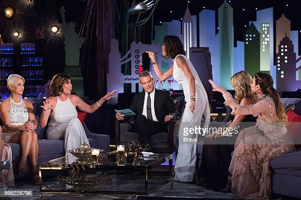 CITY 'Reunion' Pictured Dorinda Medley Luann de Lesseps Andy Cohen Bethenny Frankel Ramona Singer Carole Radziwill