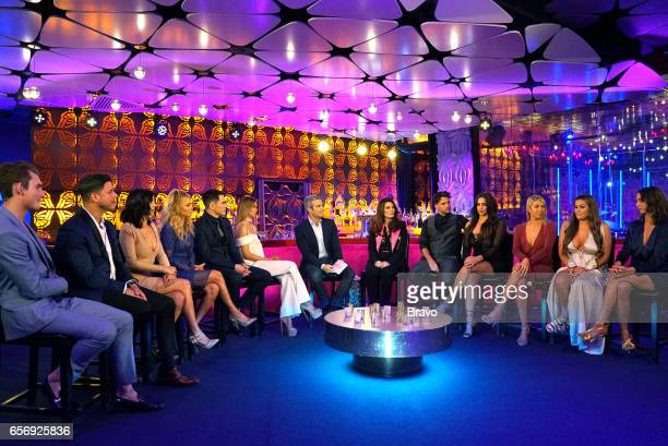 RULES 'Reunion' Pictured James Kennedy Jax Taylor Scheana Marie Ariana Madix Tom Sandoval Lala Kent Andy Cohen Lisa Vanderpump Tom Schwartz Katie...