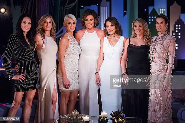 "Reunion"" -- Pictured: Julianne Wainstein, Sonja Morgan, Dorinda Medley, Luann de Lesseps, Bethenny Frankel, Ramona Singer, Carole Radziwill --"