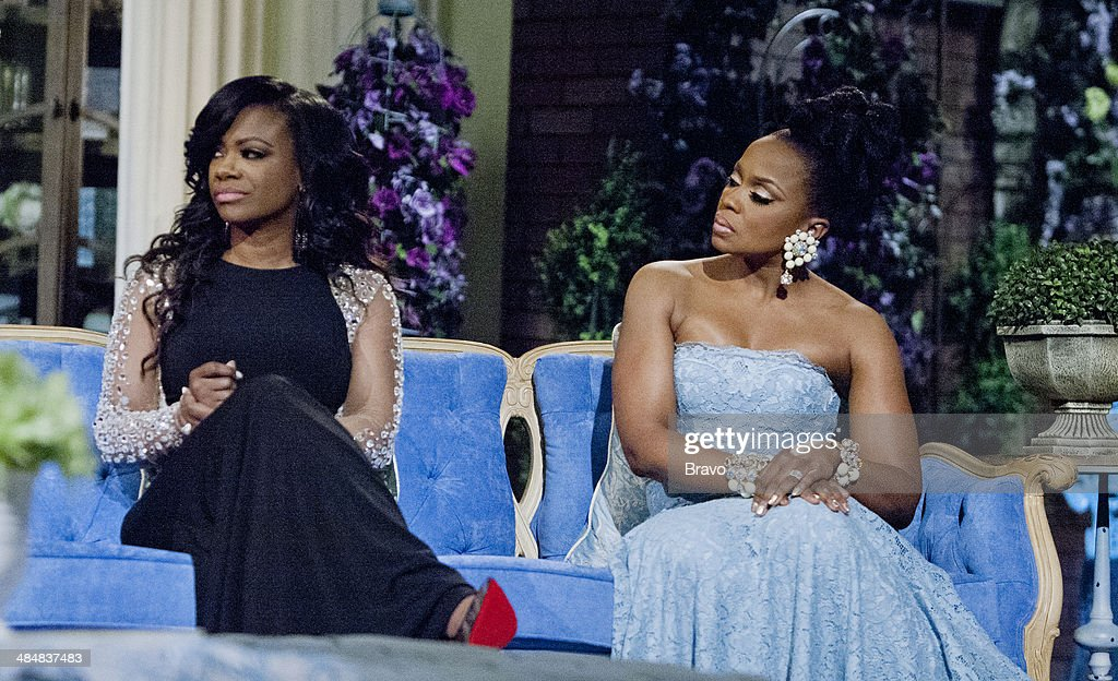 ATLANTA -- 'Reunion' -- Pictured: (l-r) Kandi Burruss, Phaedra Parks --