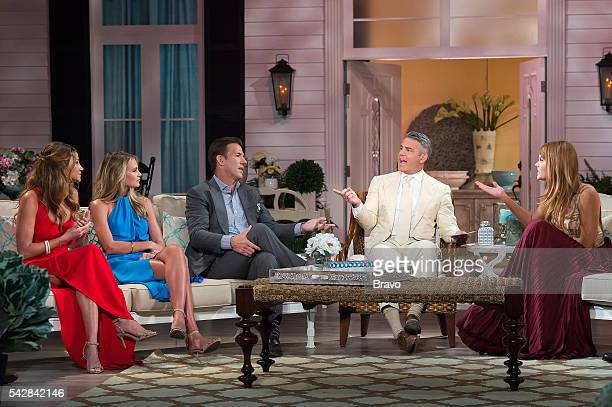 CHARM 'Reunion' Pictured Landon Clements Cameran Eubanks Thomas Ravenel Andy Cohen Kathryn Dennis Calhoun