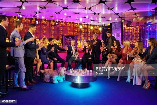 RULES 'Reunion' Pictured Peter Madrigal James Kennedy Jax Taylor Ariana Madix Tom Sandoval Andy Cohen Lisa Vanderpump Ken Todd Tom Schwartz Katie...