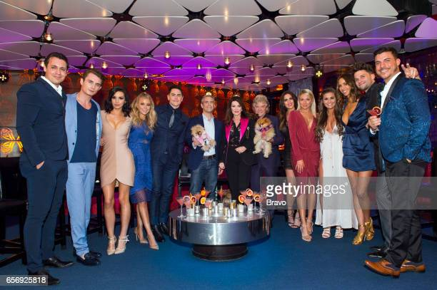 RULES 'Reunion' Pictured Peter Madrigal James Kennedy Scheana Marie Ariana Madix Tom Sandoval Andy Cohen Lisa Vanderpump Ken Todd Katie Maloney...