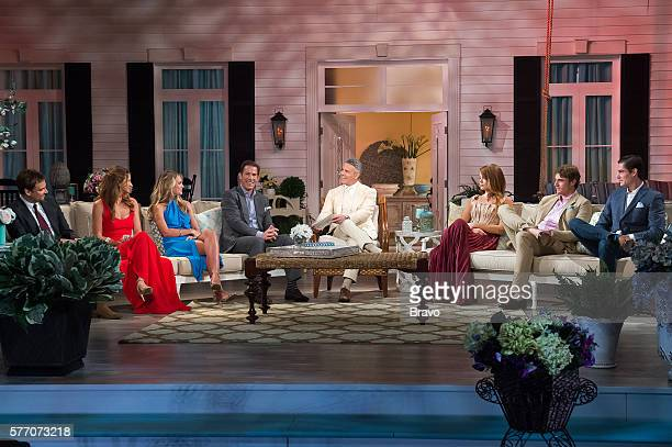 CHARM 'Reunion' Pictured Whitney SudlerSmith Landon Clements Cameran Eubanks Thomas Ravenel Andy Cohen Kathryn Dennis Calhoun William Shepard Rose...