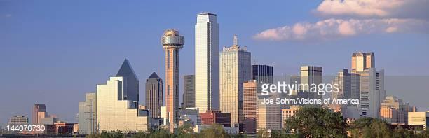Reunion Tower Dallas Sunset Texas