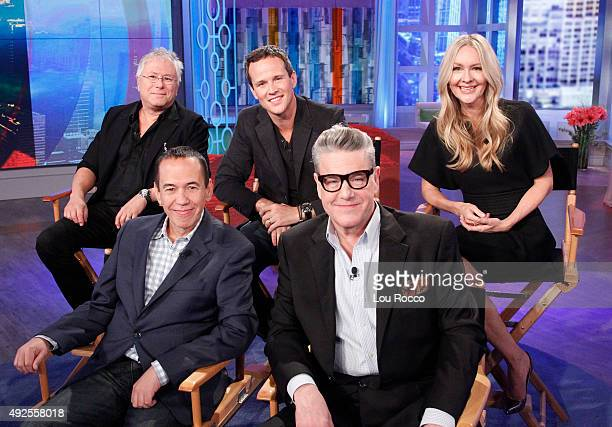 THE VIEW Reunion with the cast of Disney's 'Aladdin' including Alan Menken Scott Weinger Linda Larkin Gilbert Gottfried and Jonathan Freeman today...