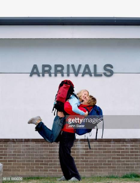 Reunited Backpackers