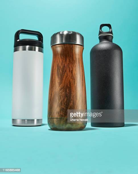 reusable waterbottles - reusable stock pictures, royalty-free photos & images