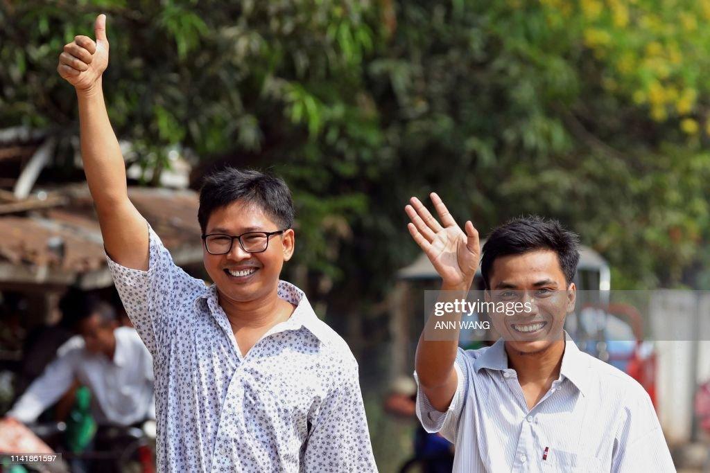 MYANMAR-MEDIA-JUSTICE : News Photo