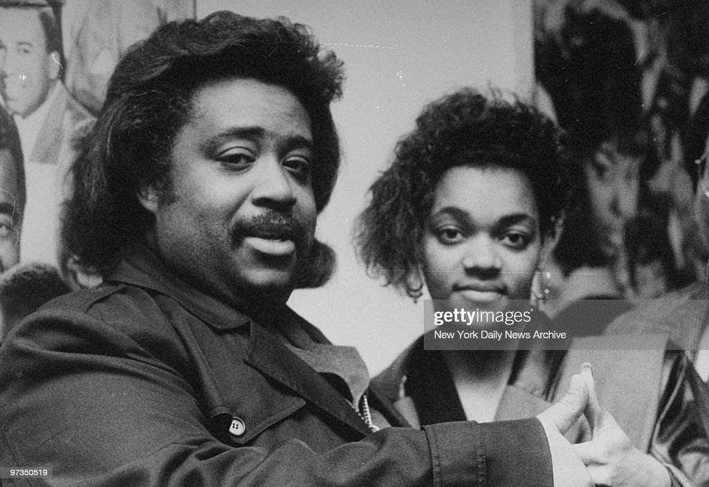 Rev. Al Sharpton and Tawana Brawley.