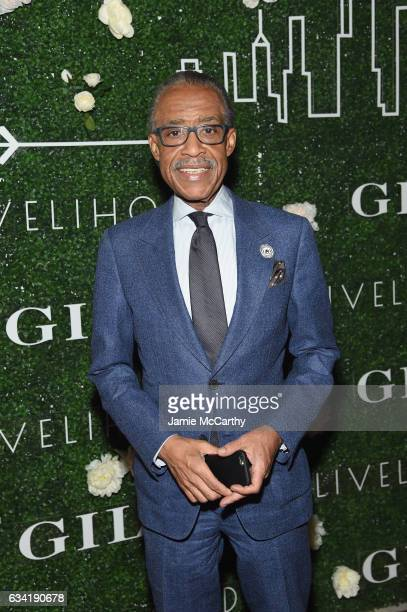 Rev Al Sharpton attends the GILT and Ashley Biden celebration of the launch of exclusive Livelihood Collection at Spring Place on February 7 2017 in...