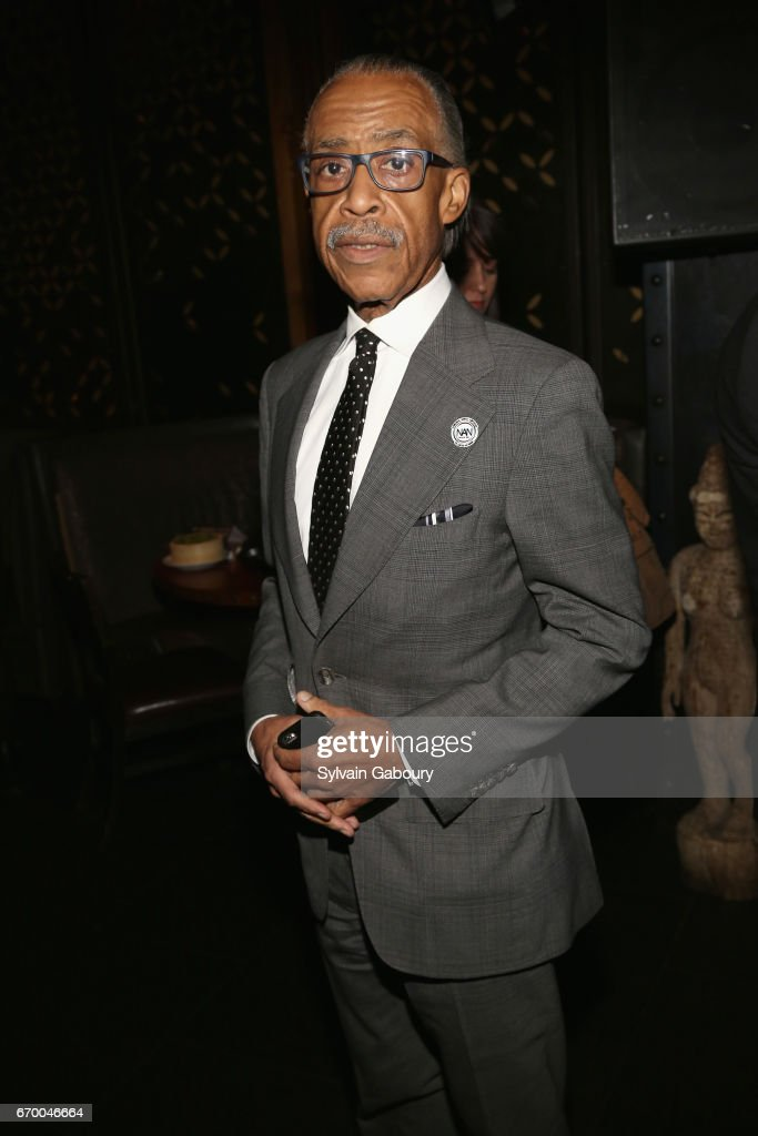 Rev. Al Sharpton attends 'The Immortal Life Of Henrietta Lacks' New York Premiere - After Party at TAO Downtown on April 18, 2017 in New York City.